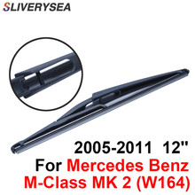 SLIVERYSEA Rear Wiper Blade No Arm For Mercedes Benz B-Class MK 1 (W245) 2005-2011 12'' 4 door SUV High Quality Natural Rubber недорого