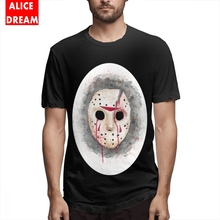 Jason Voorhees T shirt Casual New Arrival Male Tee Shirt Vintage Round Neck Big Size Homme