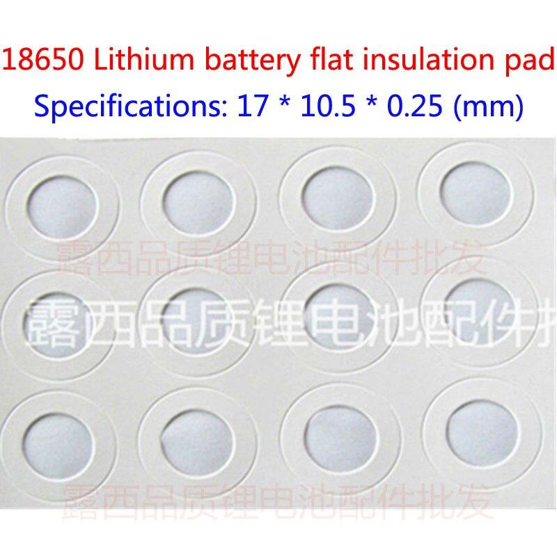 Купить с кэшбэком 100pc 18650 blocks of 18650 stainless steel flat lithium battery cathode of lithium battery cathode flat cap battery accessories