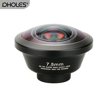 Pholes 238 Degree Fisheye HD Lens 0.2X Wide Angle Lens for iPhone X 7 6 Samsung Huawei Xiaomi 4K HD Clip On Camera Phone Lens