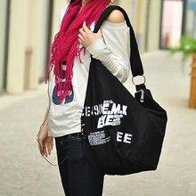 Heißes einzelteil! Damenmode Koreanischen Stil Leinwand Adrette Campus Umhängetasche Handtasche Einkaufstasche