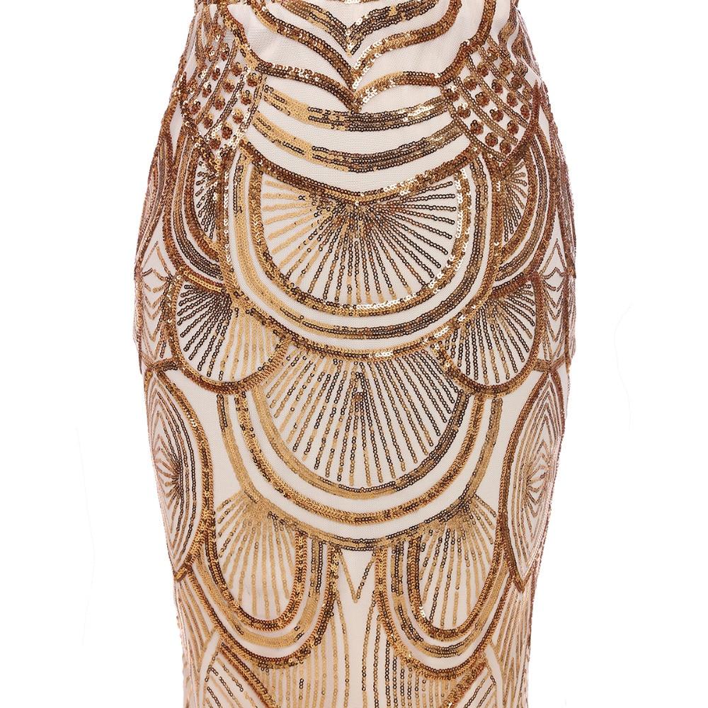 Mermaid Evening Dresses V Neck Party Gown Elegant Long Gown Formal - Gaun acara khas - Foto 5