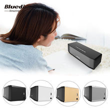 Bluedio bs – deux Portable Mini sans fil Bluetooth haut-parleurs barre de Bluetooth 4.1 stéréo musique écoute et appel téléphonique 100% originale