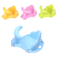 Hot 0 36 Months 4 Colors Babies Bath Tubs Children Multifunction Shower Shelf Kids Anti slip Security Safety Chair Bath Products
