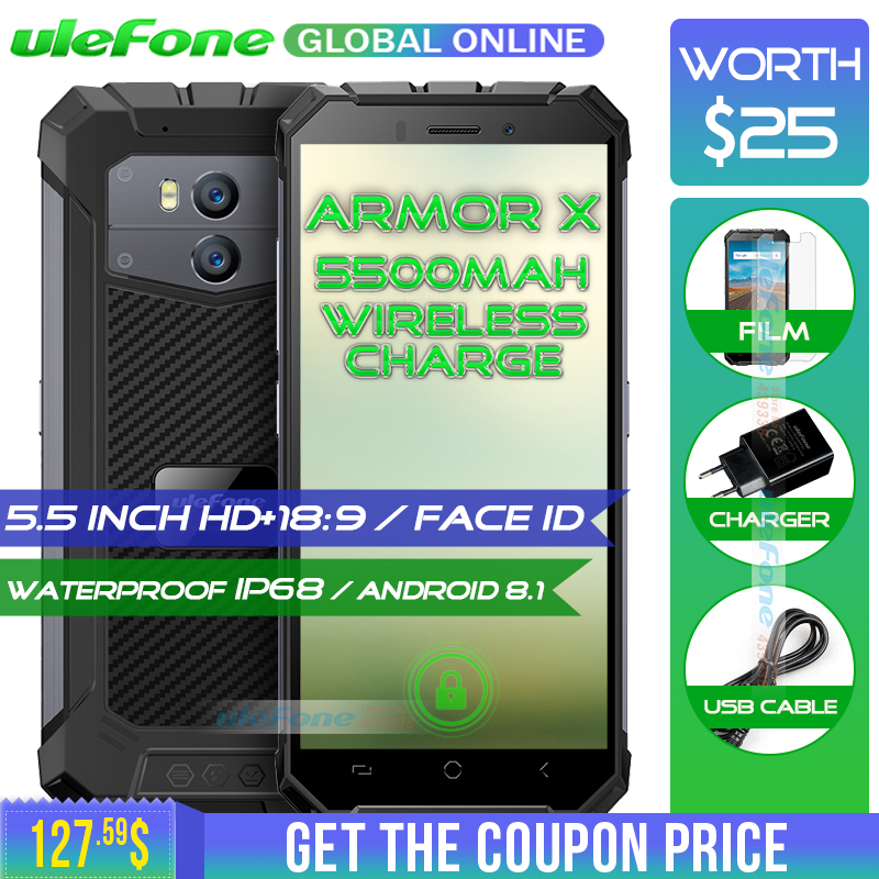 Armadura X IP68 À Prova D' Água Smartphones Ulefone 5.5