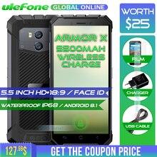 Ulefone Zırh X Su Geçirmez IP68 Smartphone 5.5