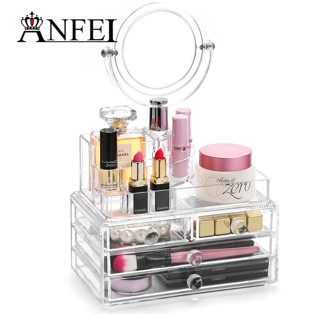 Anfei Drawer Acrylic Makeup Organizer Wholesale