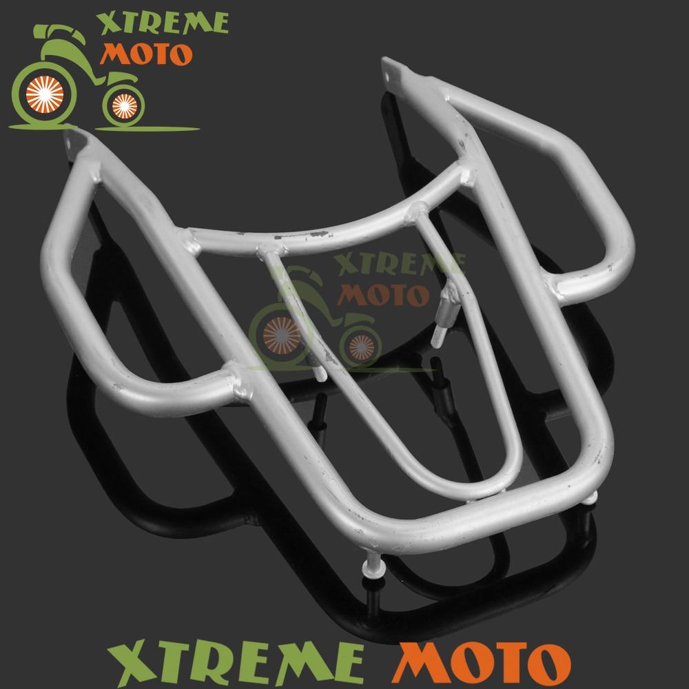 Motorcycle Detachable Rear Fender Luggage Rack Support Holder Cargo Shelf Shelves Bracket Kit For Suzuki DRZ400 DRZ400S DRZ400M rear detachable luggage rack support holder saddlebag cargo shelf bracket for honda xr250 xr400 dirtbike motocross