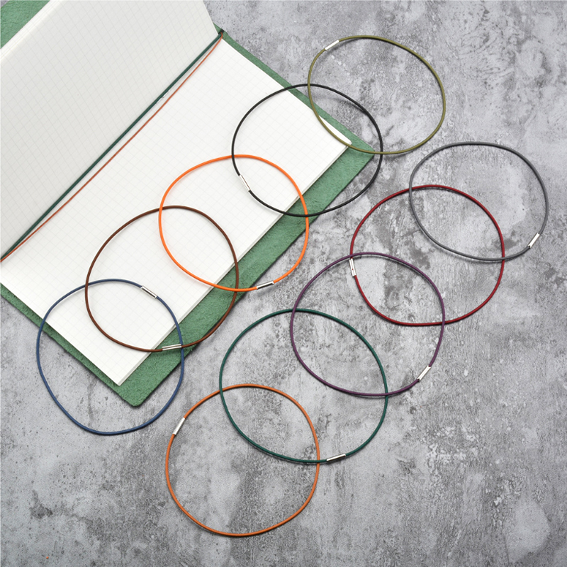 Travel Notebook Inner Page Tied Rope Elastic Band Filler Paper Refill Rubber Cord