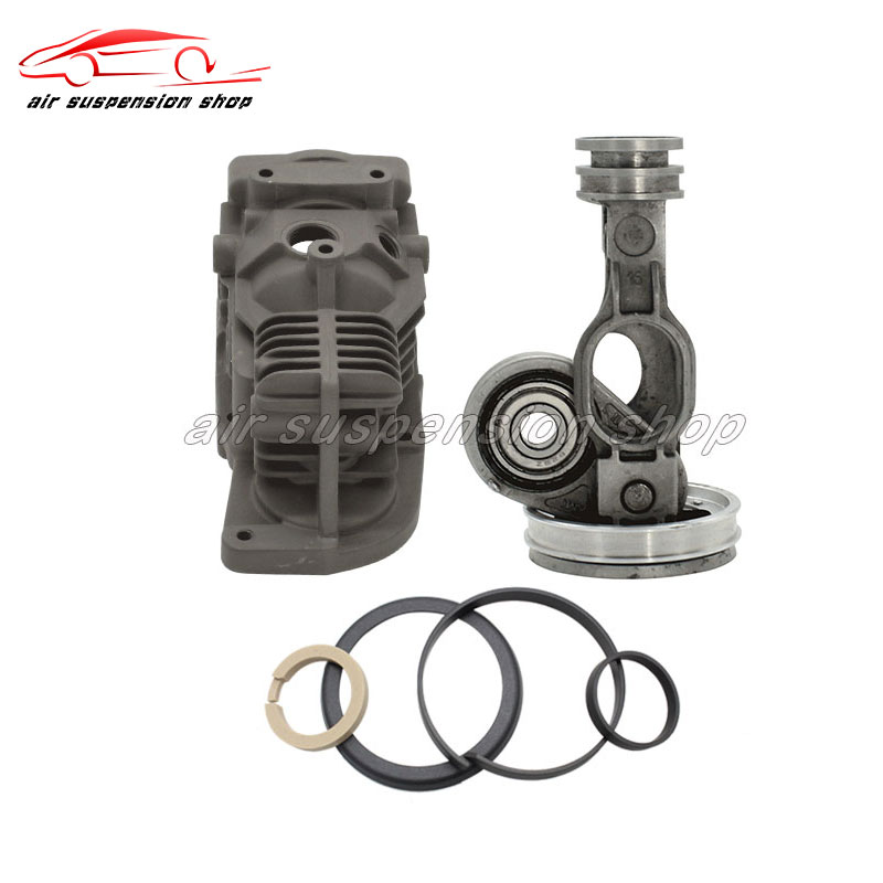 1 set Air suspension Compressor Cylinder and Piston Rod w/ Rings Gas Spring Pump Repair W164 X164 W251 A1643201204 A16432010041 set Air suspension Compressor Cylinder and Piston Rod w/ Rings Gas Spring Pump Repair W164 X164 W251 A1643201204 A1643201004