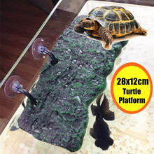Reptiles Aquarium Tank Floating Platform Dock Turtle Pier Basking Terrace Island Stand Reptiles Aquatic Pet Terrarium Decoration(China)