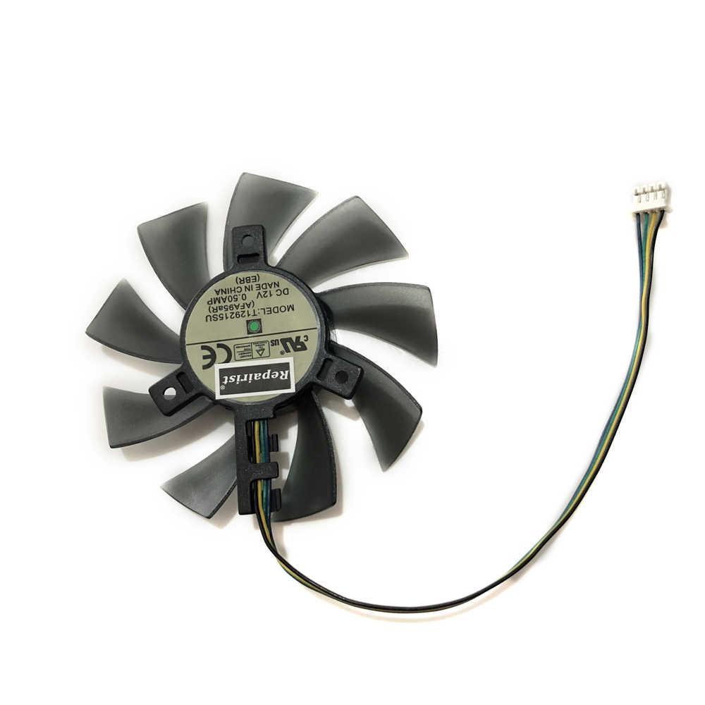 Gpu VGA soğutucu 85mm gtx 970/960/950/760 Grafik kartı Fanı ASUS GTX970/ GTX960/GTX950/GTX760/GTX670 MINI ekran Kartı soğutma