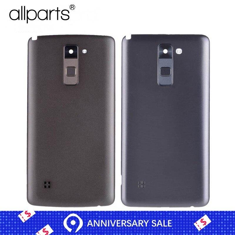 Cep telefonları ve Telekomünikasyon Ürünleri'ten Cep telefonu yuvası'de Orijinal arka konut LG Stylus 2 Plus için K530 K530F K535 arka kapak kılıf pil arka kapı için orta çerçeve değiştirme ile title=