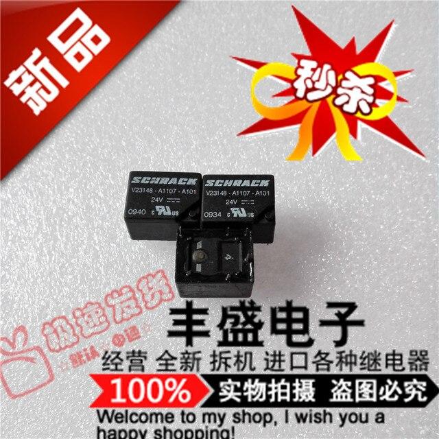 Original new 100% V23148-A1107-A101 genuine A1107-A101 import 24VDC relay