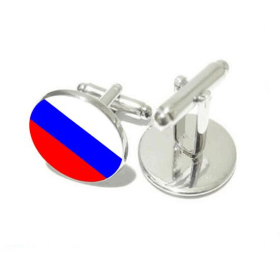 National Emblem Cufflinks Germany/France/Russia/Brazil National Emblem Flag Cuff Links Cuff Button Men's Jewelry Party 20pairs-in Tie Clips & Cufflinks from Jewelry & Accessories    3