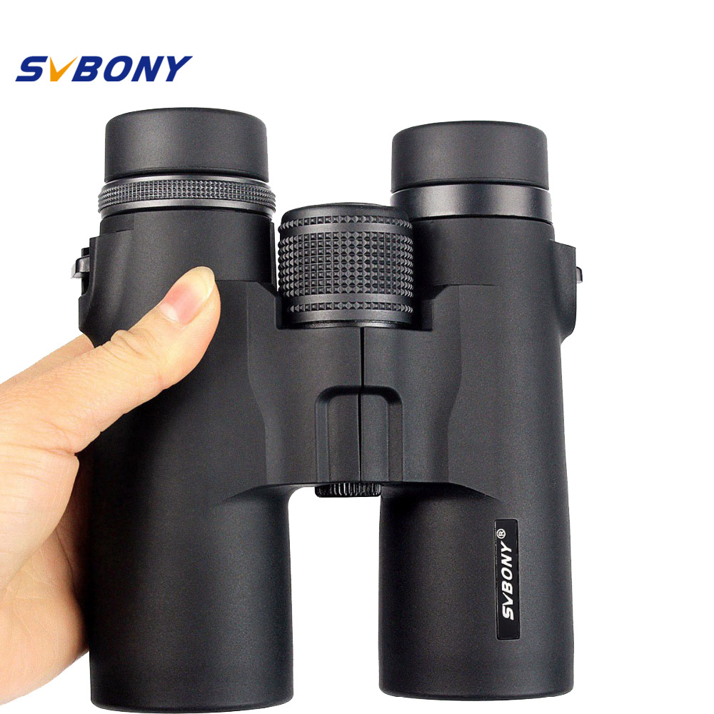 SVBONY 10x42 Binoculars Telescope MC Green Optics for Camping Hiking Outdoor Tourism Travel Sport Hunting Telescope F9117AD цена