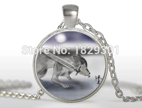 2017 new artorias and sif dark souls necklace silver jewelry glass 2017 new artorias and sif dark souls necklace silver jewelry glass dome pendant necklaces wolf pendants aloadofball Choice Image