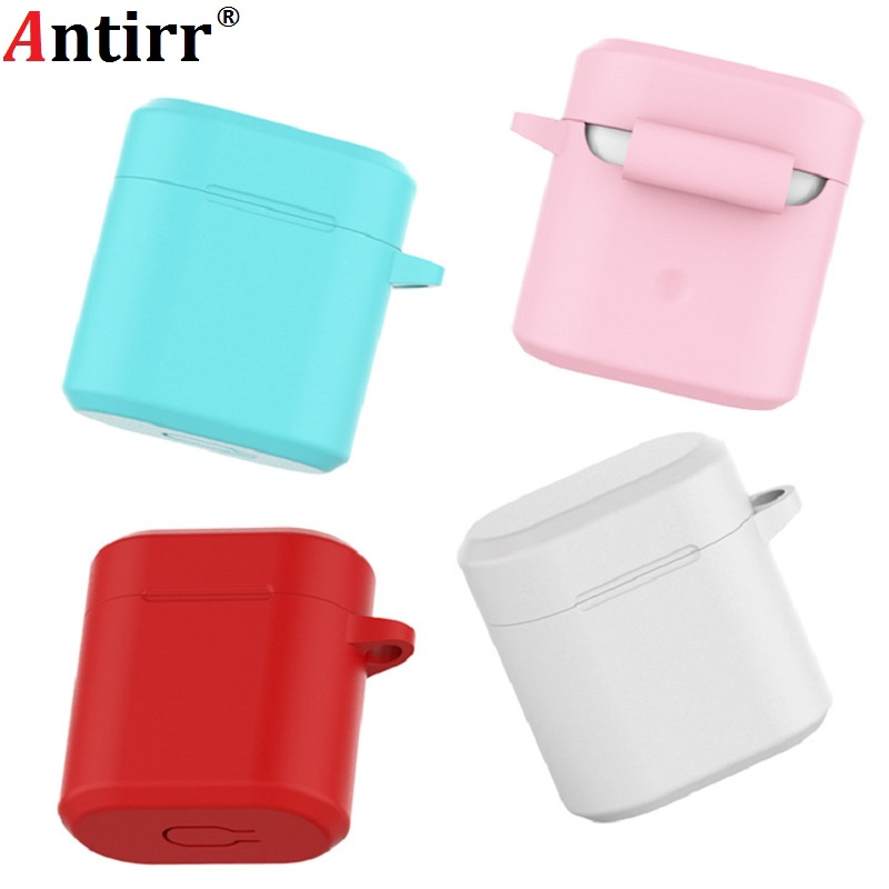 Silicone Earphone Cases For Honor FlyPods / Honor FlyPods Pro / Huawei FreeBuds 2 Pro Charging Bin Anti-slip Protective Case