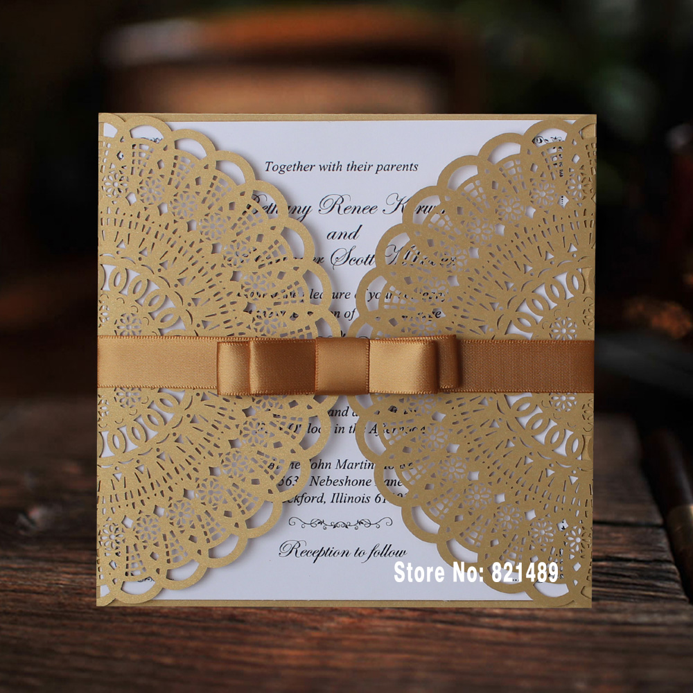 Online Buy Wholesale elegant birthday invitations from China