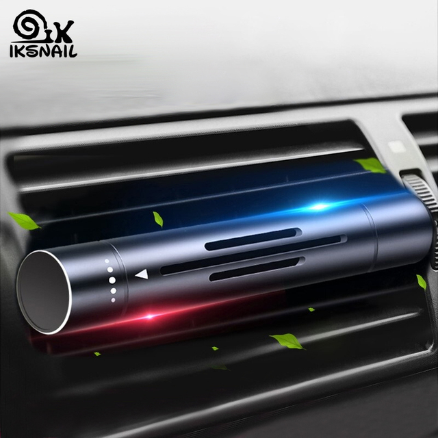 Iksnail 車の空気出口香水クリップ空調ペンダント車のアロマ持続フレグラン車特別な空気清浄