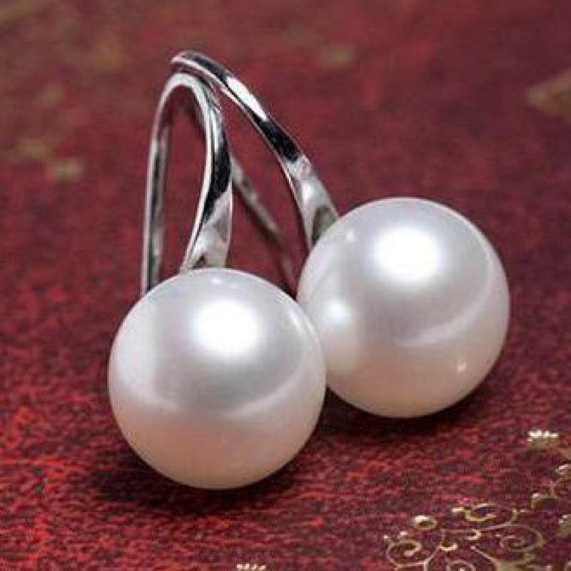 2020 Hot Sale Natural Pearl Earrings For Women Freshwater AA Pearl Earring Earring Accessories Earrings