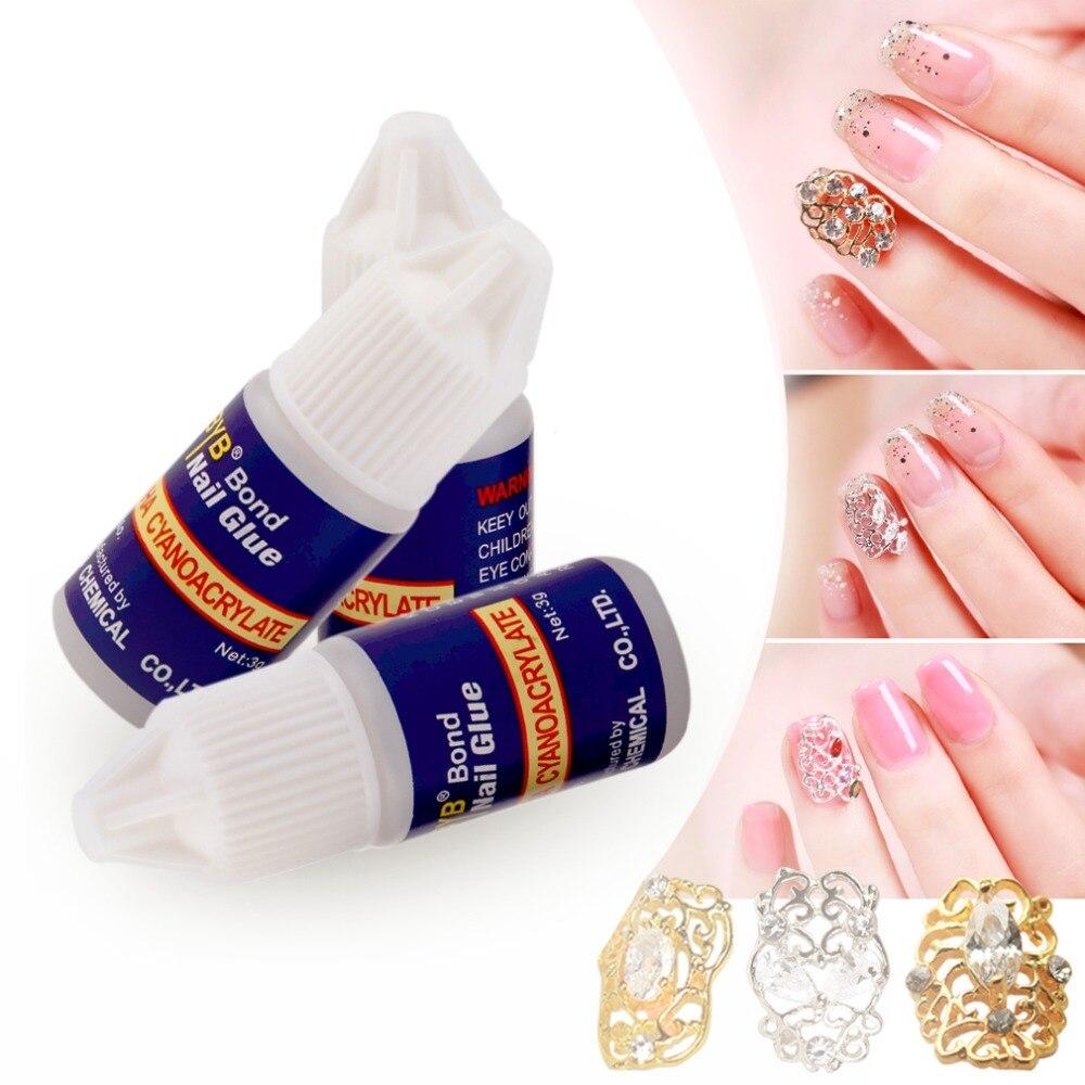 3pcs DIY Beauty Professional Nails Decoration Nail Stickers