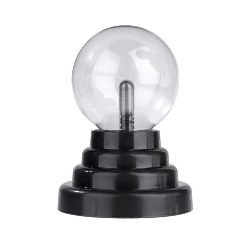 9.6*9.6*14cm USB Plasma Ball Magic Static Crystal Night Light Transparent Table Lamp Dance With Your Finger Ideal Gift Playing plasma ball light magic crysta ball lamp