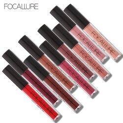 FOCALLURE Matte Liquid Lipstick Waterproof Moisturizer Smooth Lip Stick Long-lasting Lip Tint Cosmetic Lip Makeup