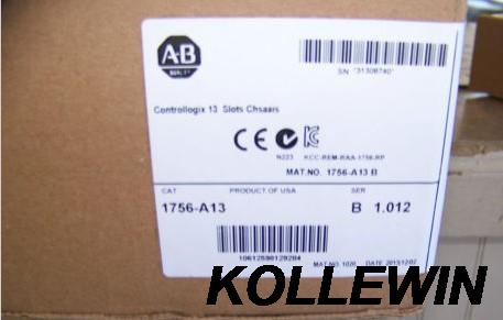 New Original Allen Bradley 1756-A13 ControlLogix 13 Slots Chassis 1756A13 1756 A13 factory sealed 1 year warranty allen bradley 1756 dnb 1756dnb controllogix communication module new and original 100% have in stock free shipping