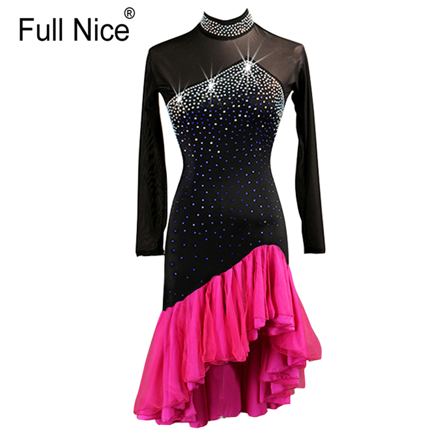 Women Latin dance competition dress