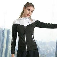 Женская куртка для бега, куртка для йоги на молнии с длинным рукавом, женская спортивная куртка для спортзала, фитнеса, женские толстовки, Спортивная женская одежда
