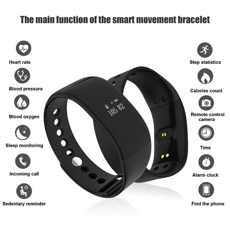 V66 pulsera inteligente impermeable 2