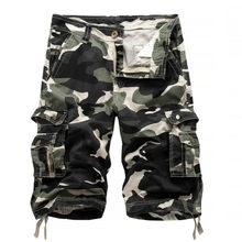 Trendyol Man Bermuda Cargo Shorts Men Modis Camouflage Military Men Short Homme Sweatpants Hip Hop Men Shorts Casual Cargo Cloth(China)