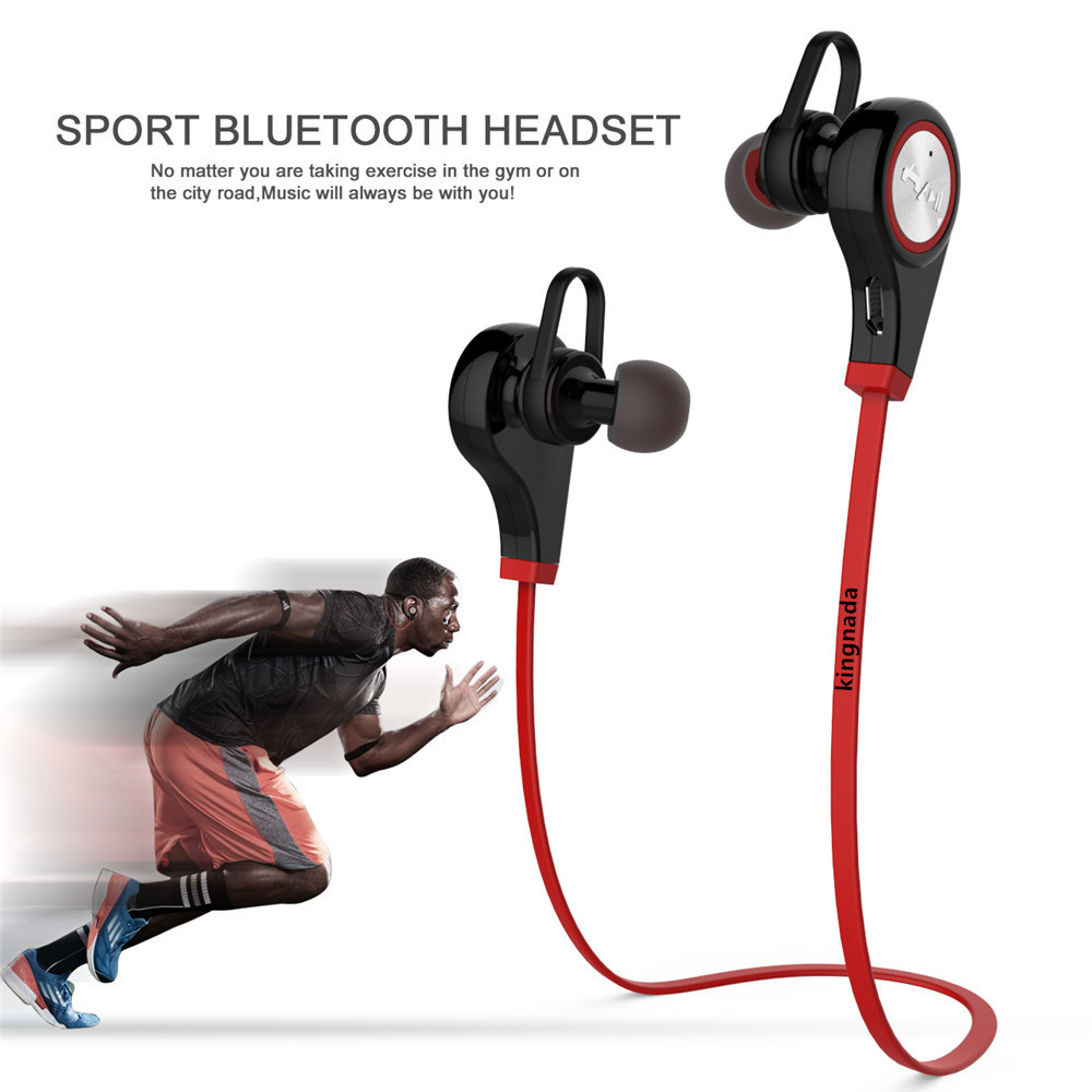Wireless Headphones Bluetooth Headset Stereo Headphones for mobile phone iPhone Android Sport Earphone With Microphone remax rb s6 wireless bluetooth earphone headphones with microphone sport stereo bluetooth headset for iphone android phone