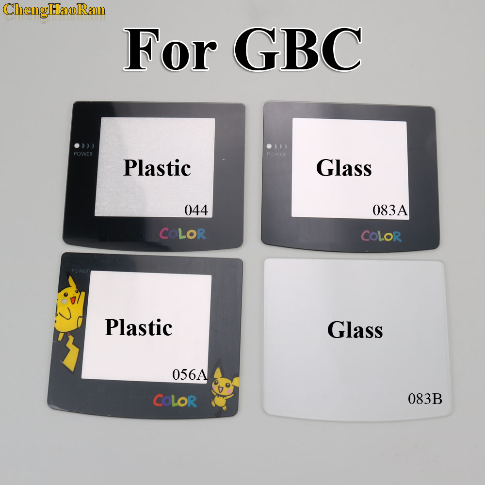 Image 3 - ChengHaoRan 8 models Plastic Glass Lens for GBC Screen Glass Lens for Game boy Color Lens Protector W/ Adhensive Pikachu Mario-in Replacement Parts & Accessories from Consumer Electronics