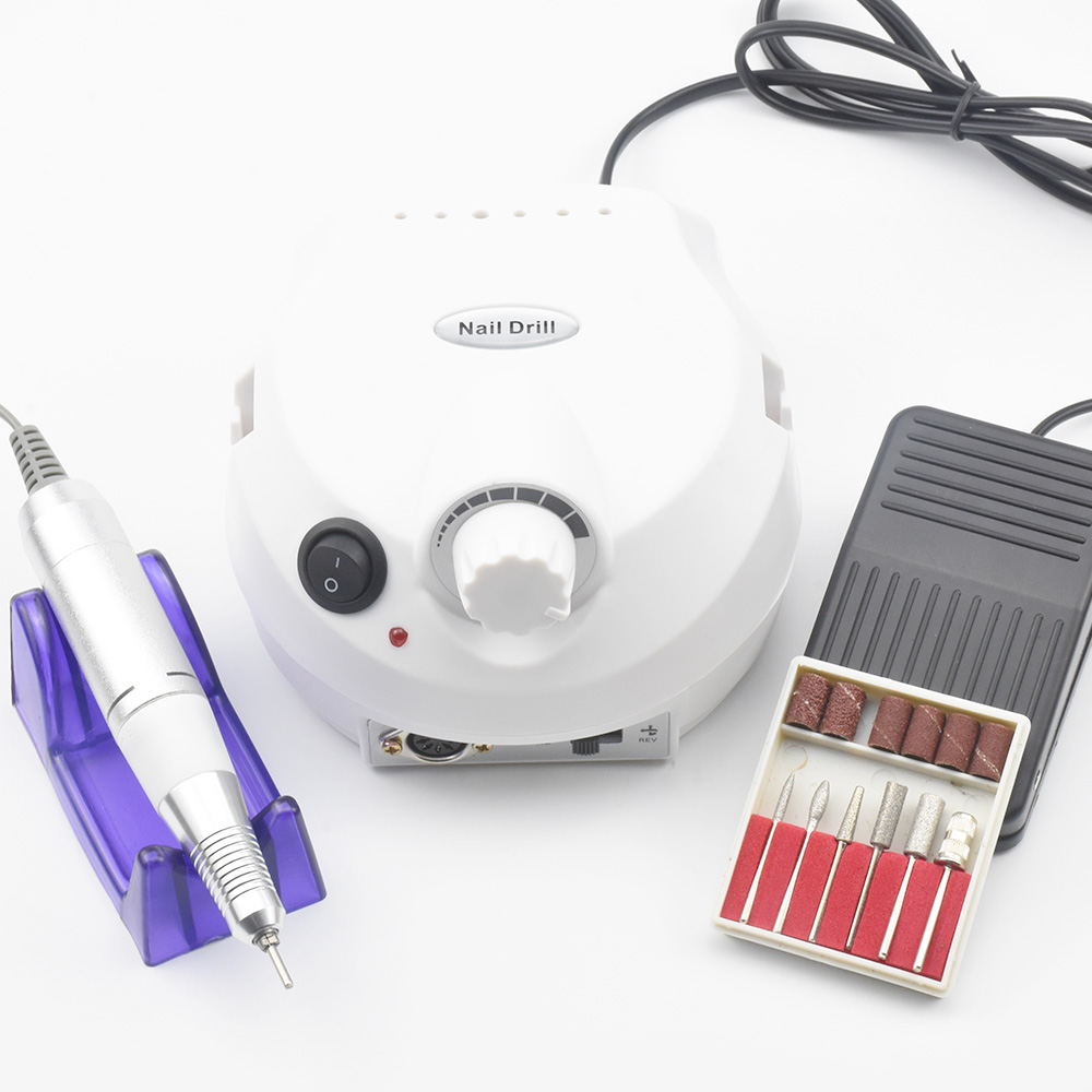 35000 Rpm Pro Elektrische Nagel Bohrer Maschine Elektrische Maniküre Maschine Bohrer Zubehör Pediküre Kit Nagel Bohrer Datei Bit Nagel Werkzeuge