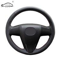 Steering wheel cover for Mazda 3 Axela 2008 2013 Mazda CX 7 CX7 2010 2016 Mazda 5 2011 2013,Mazda 6 Atenza 2009 2013/