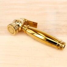 toilet hand bidet faucet bathroom shower sprayer brass T adapter 1.5m hose tank hooked holder easy install spray portable
