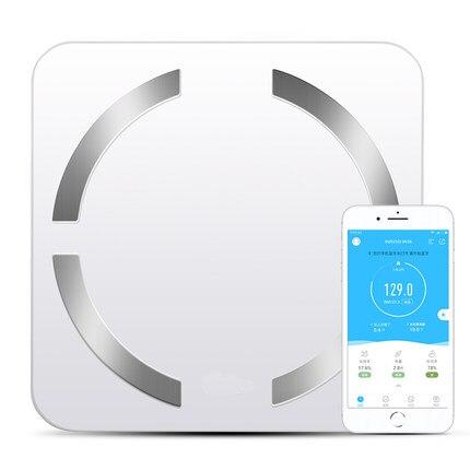 Balance de graisse corporelle balance de mesure de poids domestique santé humaine pesage électronique connexion Bluetooth téléphone outil de soin minceur