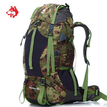 65L Outdoor Sport Waterproof Travel Hiking Mochila Camping Rucksack Backpack Bags For Sports Tourist Backpacks Bag Rugzak