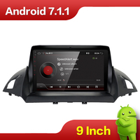 Android 7.1 Car DVD Player GPS Navigation Multimedia for Ford Kuga 2013 Auto Radio Audio Video Stereo