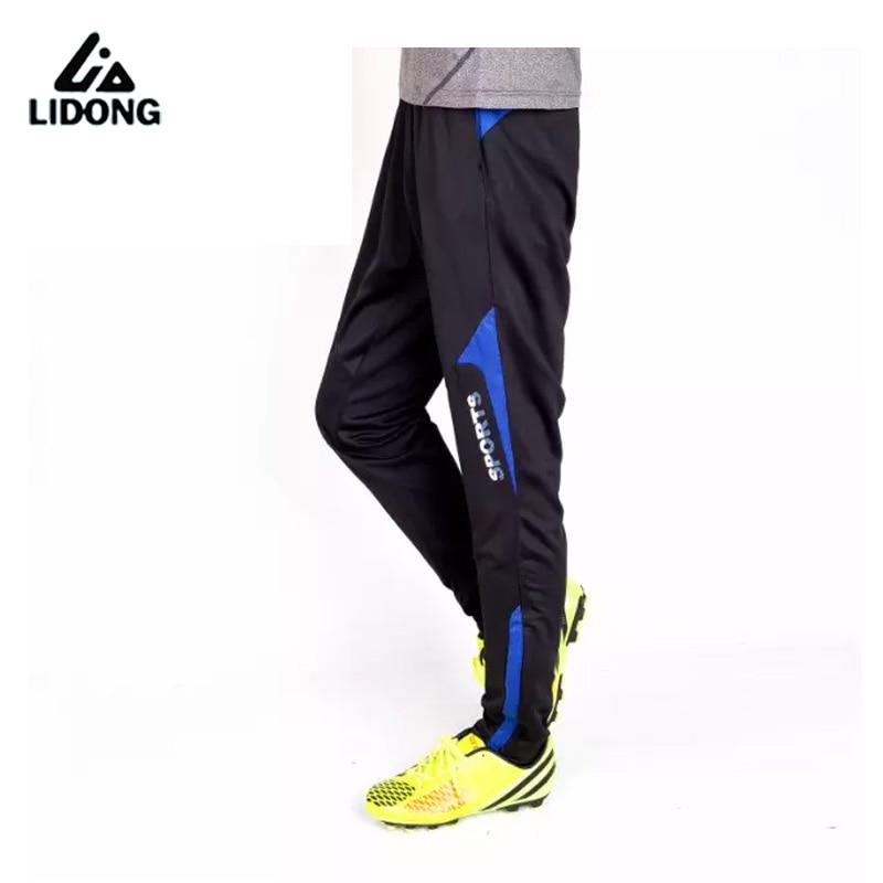 LIDONG New Kids Soccer Training Pants Slim Skinny Leg Sports Boys Survetement Football Running Pants Jogging Tracksuit Trousers|training pants|kids soccer training pantspants soccer -