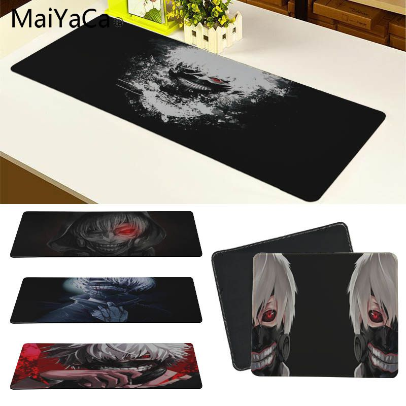 MaiYaCa Tokyo Ghoul Customized laptop Gaming mouse pad Size for 30x60cm and 30x90cm Gaming Mousepads