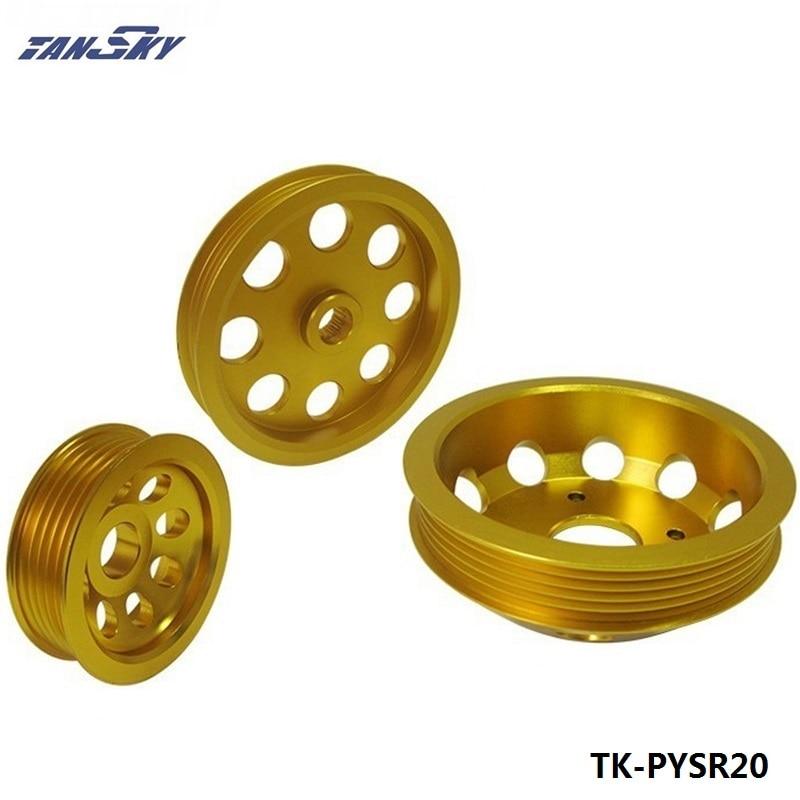 Alternateur léger de pompe à eau de représentation de jeu de poulie pour Nissan SILVIA S14 S15 SR20 TK-PYSR20