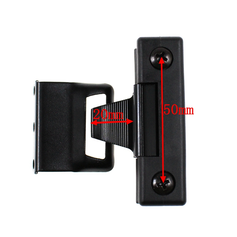 LARBLL 50 MM Car Auto window glass Clips Hook Lock fibbia universale per auto SUV Off-Road pick-up camion auto barca escavatore