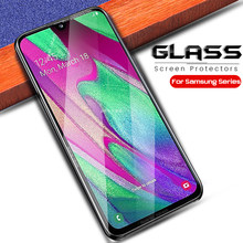 sansung a 40 glass tempered sheet film for samsung galaxy a10 a20 a20e a30 a40 a40s a50 a60 a70 a80 a90 screen protector glasse(China)