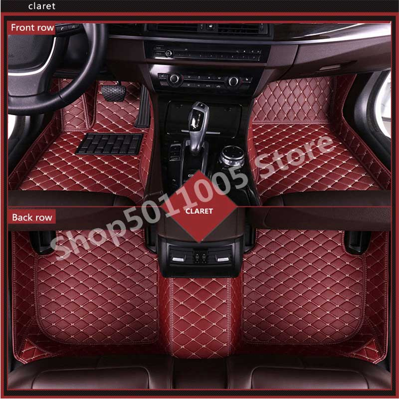 N 3D tapis de sol en cuir de luxe pour TOYOTA BMW BENZ Mazda Passat CX-5 3 Ford Hyundai land cruiser Skoda Nissan