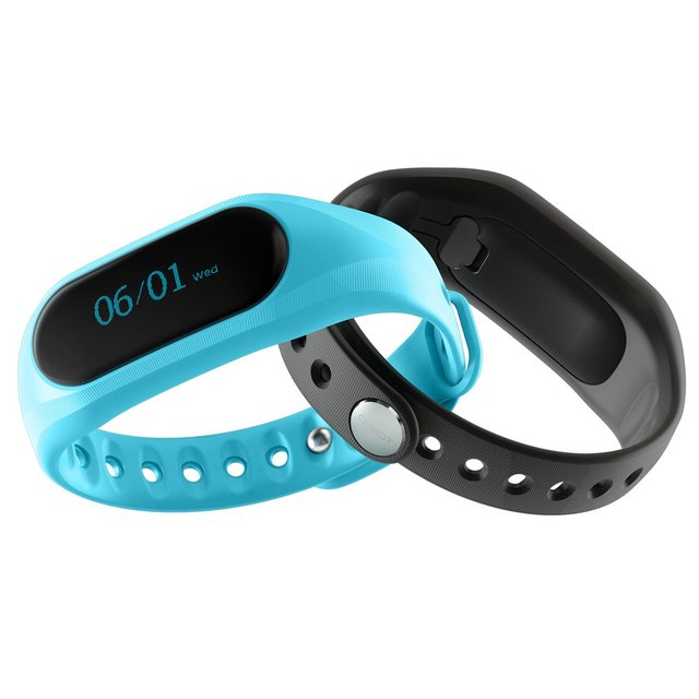 CUBOT V1 Customizable APP Intelligent Alarm Smart Band with Precise Motion Sensing Smart Wristband for Android / ios