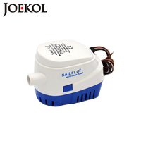 Free Shipping DC12V 24V Automatic Bilge Pump 750GPH Auto Submersible Boat Water Pump Electric Pump For