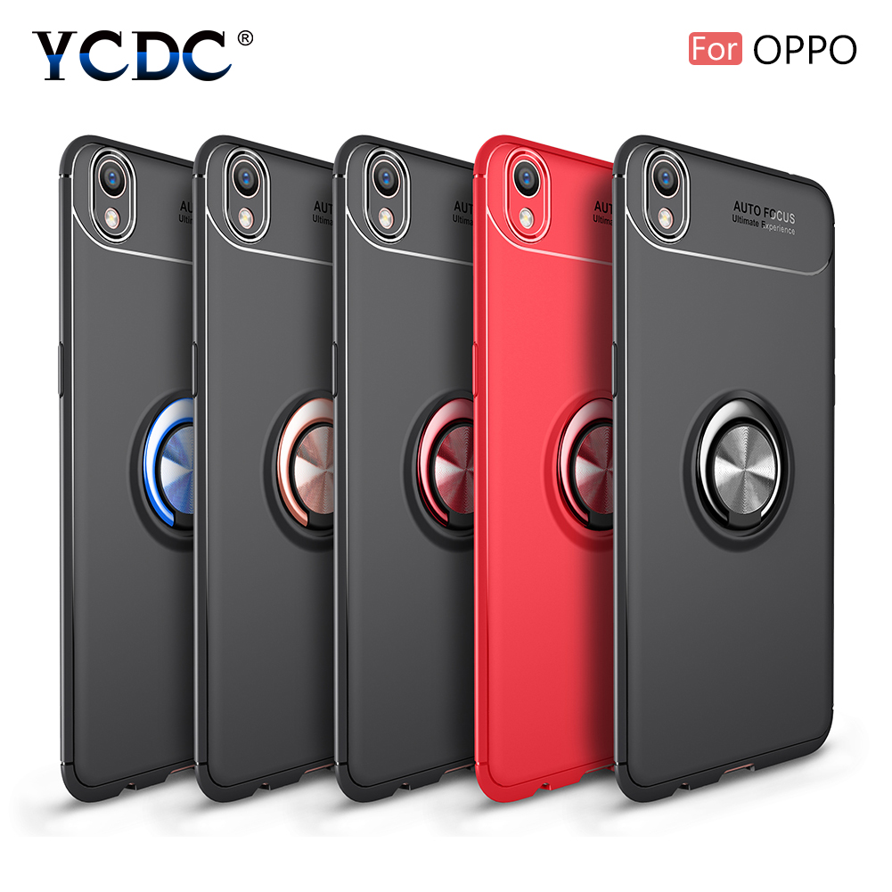 Anti-shock Magnetic TPU Case Ring Stand For OPPO R17 R17 Pro Find X R15 Dream OPPO Phone Cover